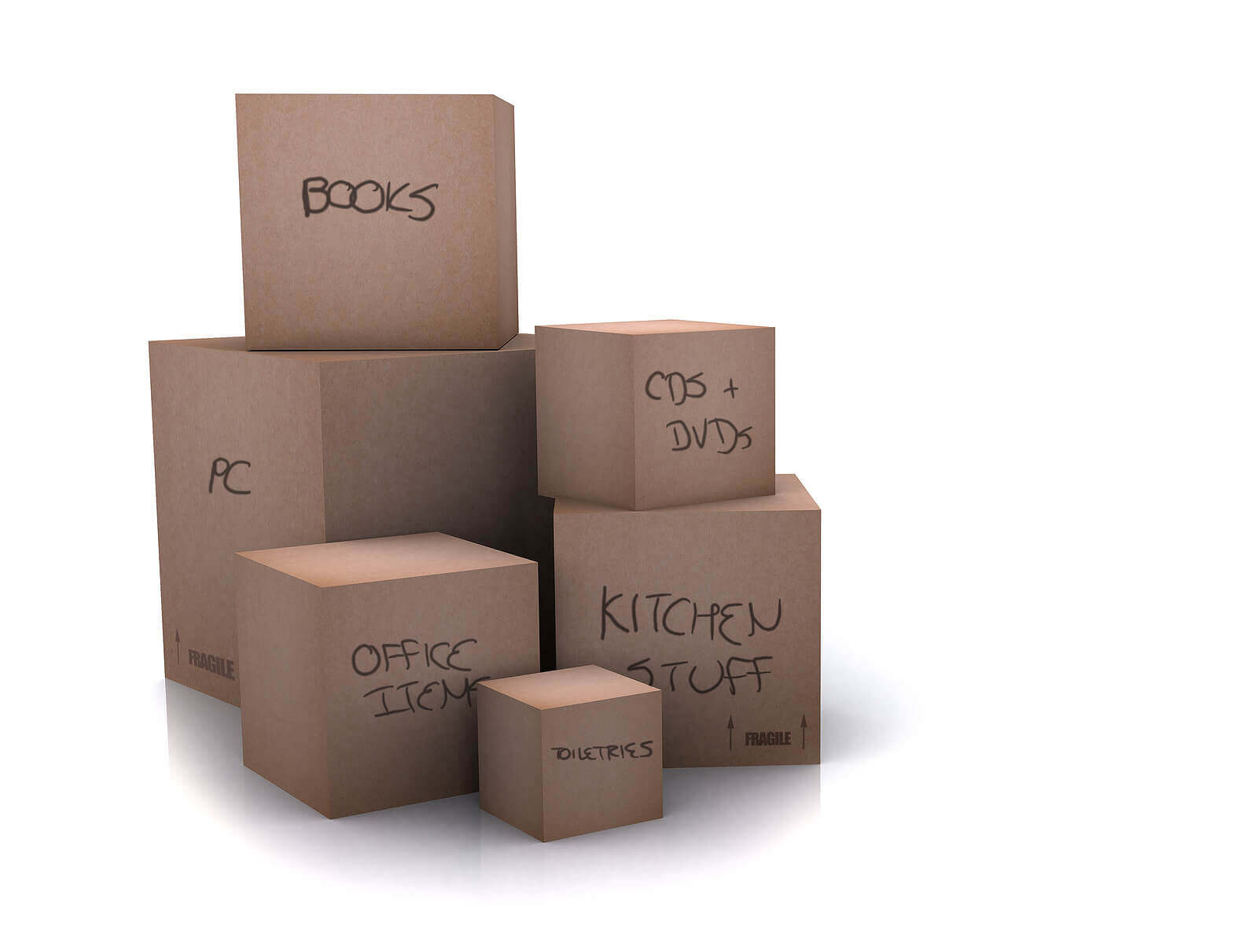 Moving Kit 1 (15 Boxes & Supplies)