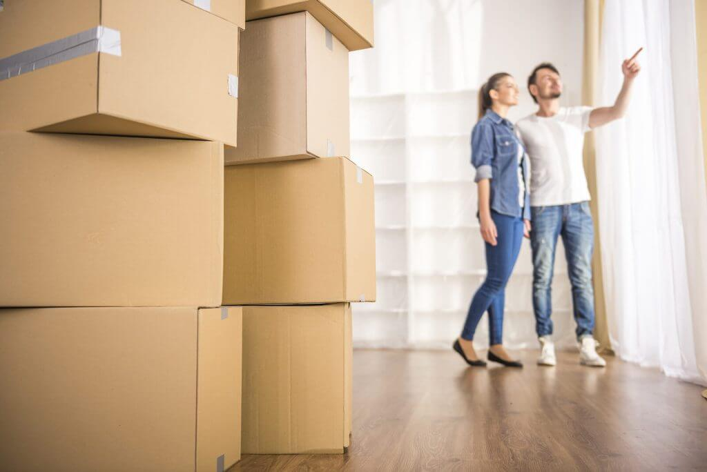 Couple before Moving
