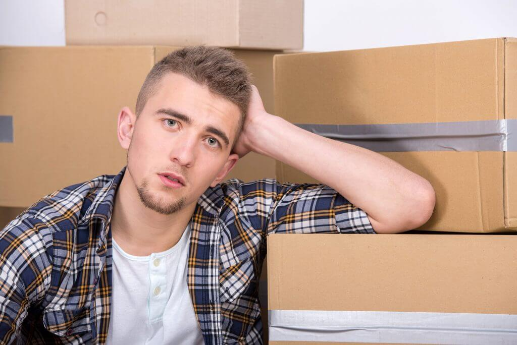 stressed during a move